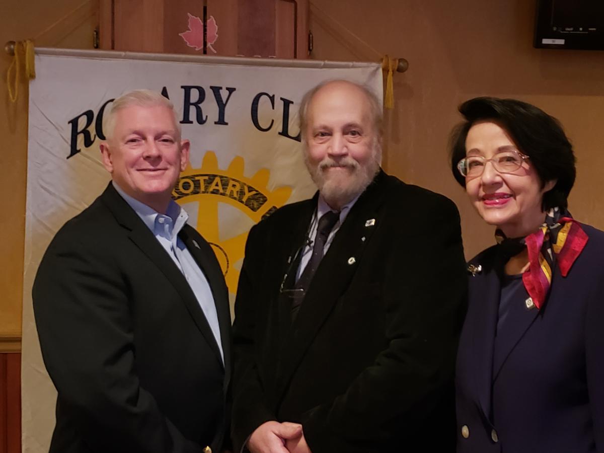 Dr. Bob Palma New Rotarian 20181218